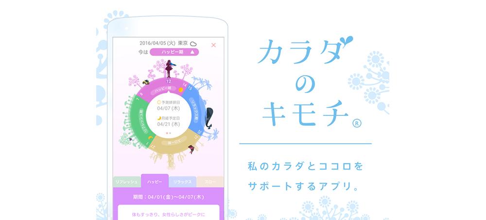 女性向け ヘルスケアサービス カラダのキモチ docomohelthcare 日本サービス大賞d